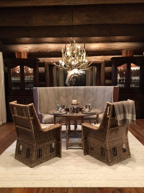 kitchen diningroom custom antler chandeliers